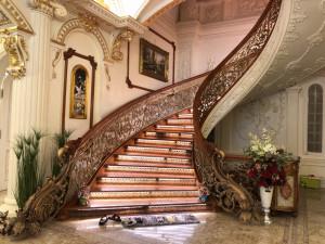 Cầu thang nhôm đúc - CT051